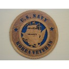 US Navy Veteran Korea Plaque