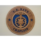 US Navy Chaplin Plaque