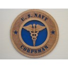 US Navy Corpsman Plaque
