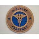 US Navy Corpsman Plaque