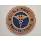 US Navy Hospital Corps Plaque