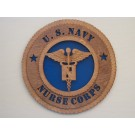 US Navy Nurse Corps Plaque