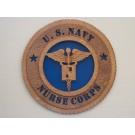 US Navy Nurse Corps Plaque