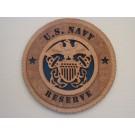US Navy Reserve Plaque