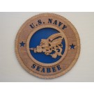 US Navy Seabee Plaque