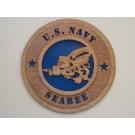 US Navy Seabee Plaque