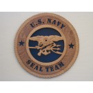 US Navy Seal Team Plaque