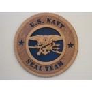 US Navy Seal Team Plaque