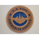 US Navy Submarine Service Plaque