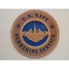 US Navy Submarine Service Plaque