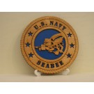 US Navy Seabees Desktop Plaque