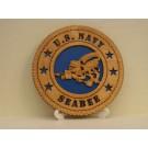 US Navy Seabees Desktop Plaque