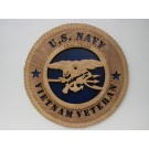 US Navy Seal Team Vietnam Veteran Plaque