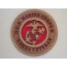 US Marine Corps Veteran Korea Plaque