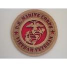 US Marine Corps Veteran Vietnam Plaque