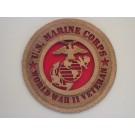 US Marine Corps Veteran WWII Plaque
