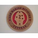 2nd Marine Division Veteran Plaque