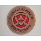 United States Marine Corps 3rd Division Plaque
