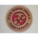 US Marine Corps Camp Lejeune Plaque