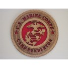 US Marine Corps Camp Pendleton Plaque