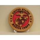 US Marine Corps Desktop Plaque