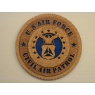 US Air Force Civil Air Patrol Plaque