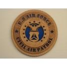 US Air Force Civil Air Patrol Plaque