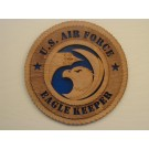 US Air Force Eagle Keeper Plaque
