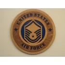 United States Air Force Senior Master Sergeant Plaque