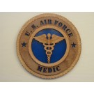 US Air Force Medic Plaque
