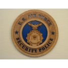 US Air Force Security Police Plaque