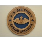 US Air Force Senior Aviation Plaque