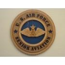 US Air Force Senior Aviation Plaque