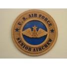 US Air Force Senior Aircrew Plaque