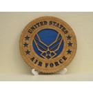 US Air Force Desktop Plaque