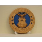 US Air Force Academy Desktop Plaque