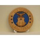 US Air Force Academy Desktop Plaque