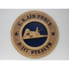 US Air Force F-117 Stealth Plaque