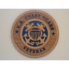 US Coast Guard Veteran Plaque