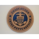 Coast Guard Chief Petty Officer Plaque