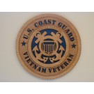 US Coast Guard Veteran Vietnam Plaque