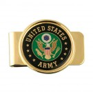 U.S. Army Crest Money Clip