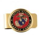 U.S. Marine Corps Crest Money Clip