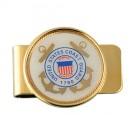 U.S. Coast Guard Crest Money Clip