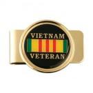 Vietnam Veteran Ribbon Money Clip