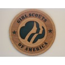 Girl Scouts of America Plaque