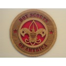 Boy Scouts of America Plaque