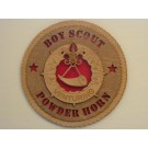 Boy Scout Powder Horn Plaque