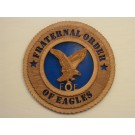 Fraternal Order of Eagles Plaque