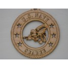 Military Ornament Seabees